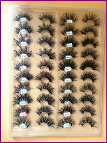 Selling 3D 25mm mink eyelashes